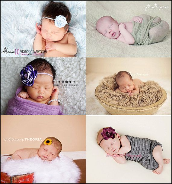 Faux fur wrap prop package newborns baby boy girl photography cheesecloth maternity furs wraps