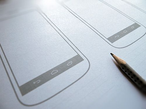 free ux sketching and wireframing templates for mobile projects - Android Mockup Tool Free