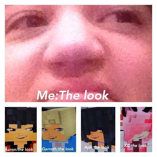I Can Actually Do The Look Aphmau Aphmau Youtube Aphmau Memes