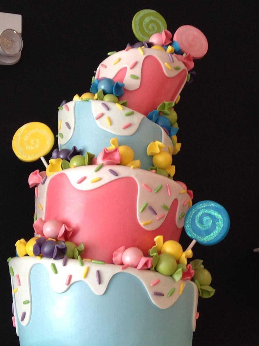 Sweet treat cake Cake, Themed cakes, Sweet treats