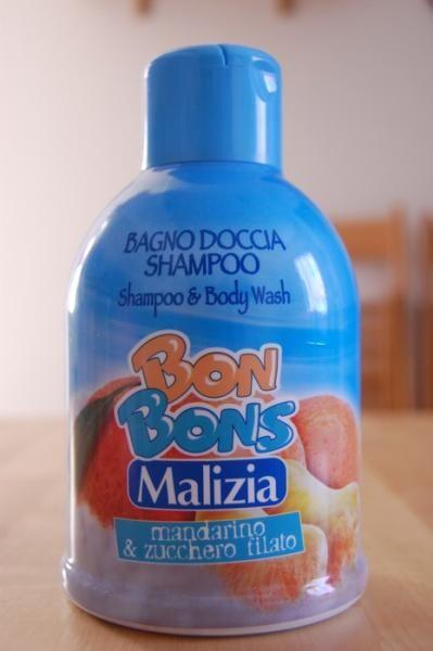Bagno Doccia Shampoo Body Wash Bon Bons Mandarino Zucchero