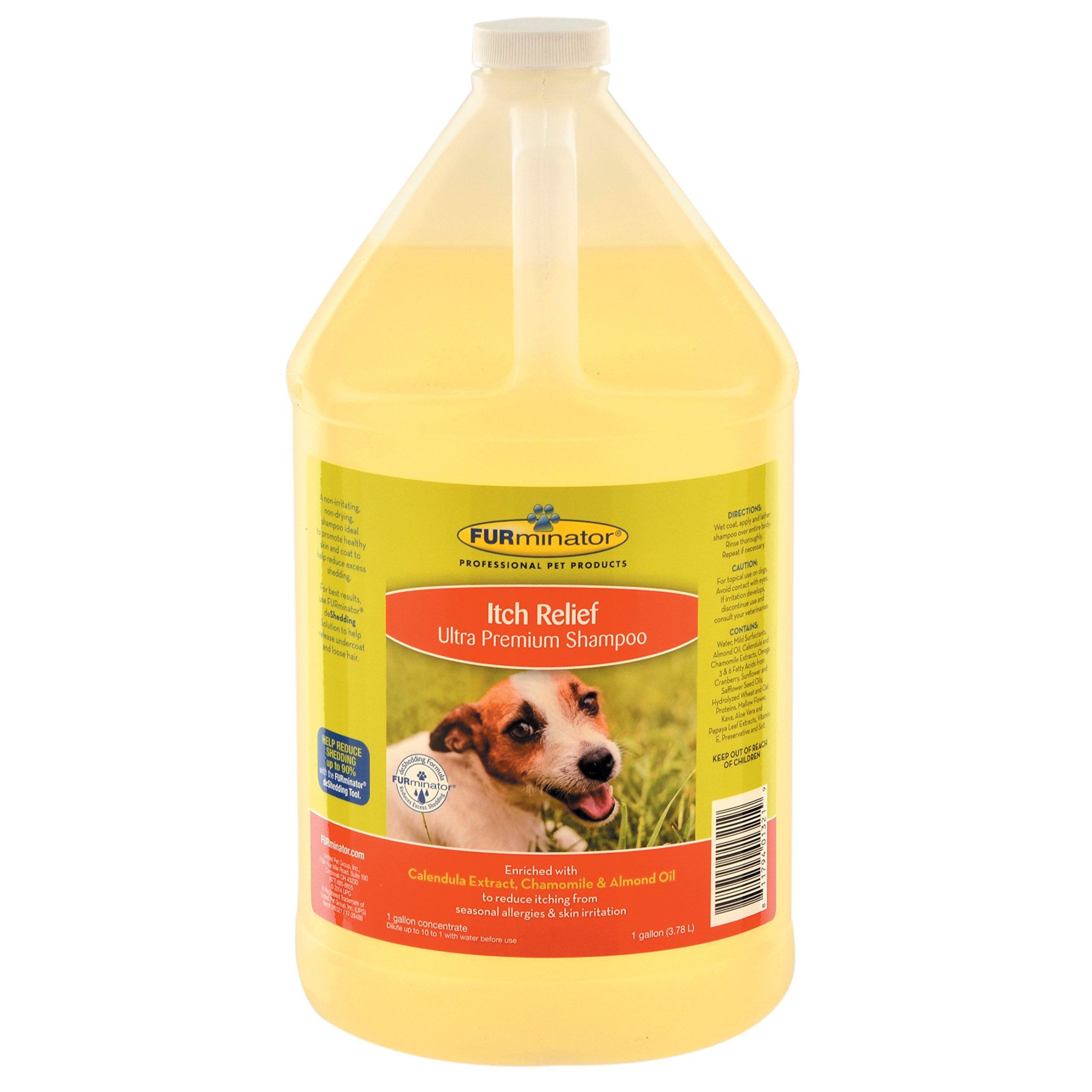 FURminator Itch Relief Shampoo Itch relief, Dog grooming