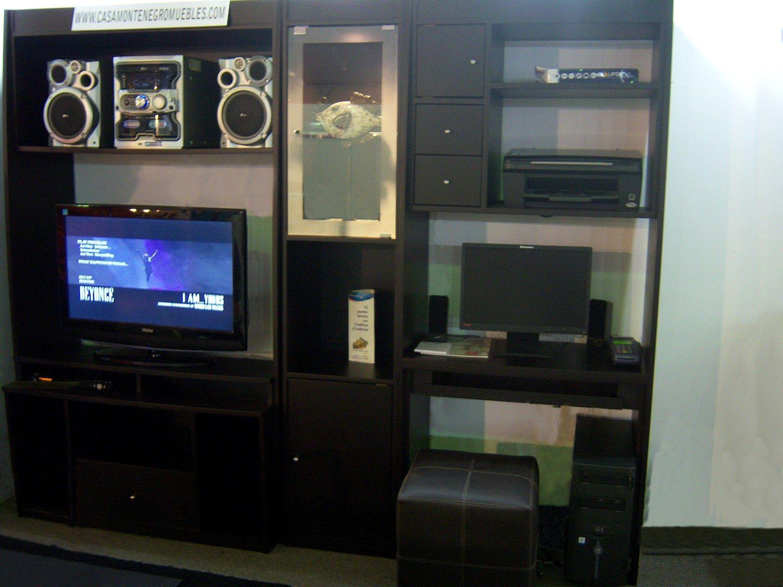 Imagenes De Muebles Para Computadora Y Television Centro De  # Muebles Equipo De Sonido