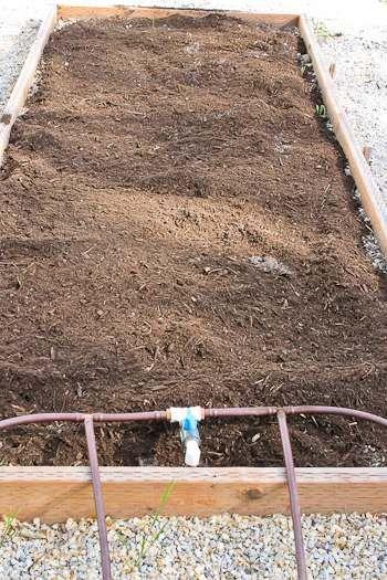 Kalyn's Kitchen®: Saturday Snapshots: Enriching the Soil Before Planting in My Raised Garden Beds (2012 Garden Update #2)