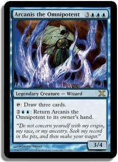 Arcanis the Omnipotent ~ Eternal Masters ~ MINT//NearMint ~ Magic The Gathering