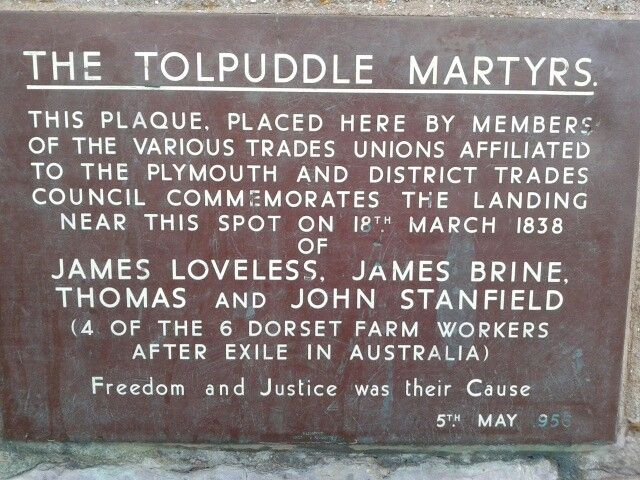 The Tolpuddle martyrs