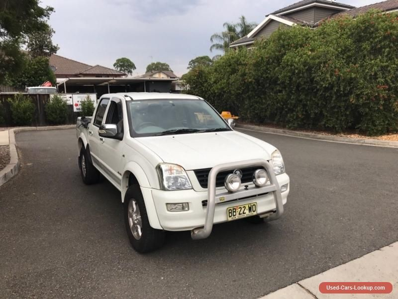 2007 HOLDEN RODEO RA DUAL CAB UTE 4x4 DAMAGED ENGINE LONG REGO CHEAP ...