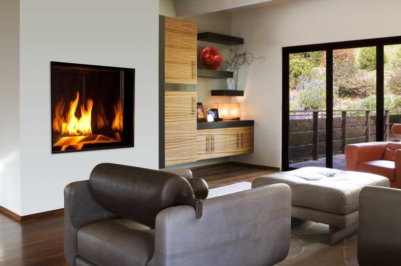 Electric Fireplace Insert With Glass Embers For Small Living Room