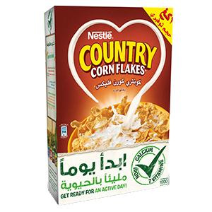 نستله كونتري كورن فليكس رقائق الذرة Country Corn Flakes موقع نستله الشرق الأوسط للعائلة Cereal Pops Pops Cereal Box Pop Tarts