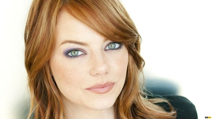 Actresses With Blue Green Eyes Google Search Emma Stone Hair