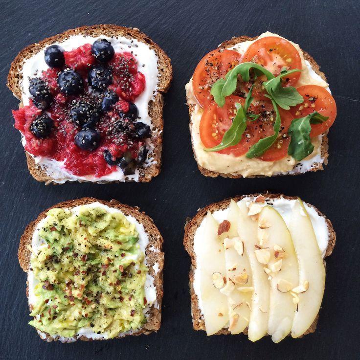 Chobani Greek Yogurt Toast - join the toast trend!