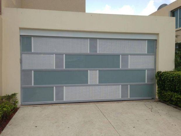 Porton marquesina fachada pinterest garajes - Porton de garaje ...