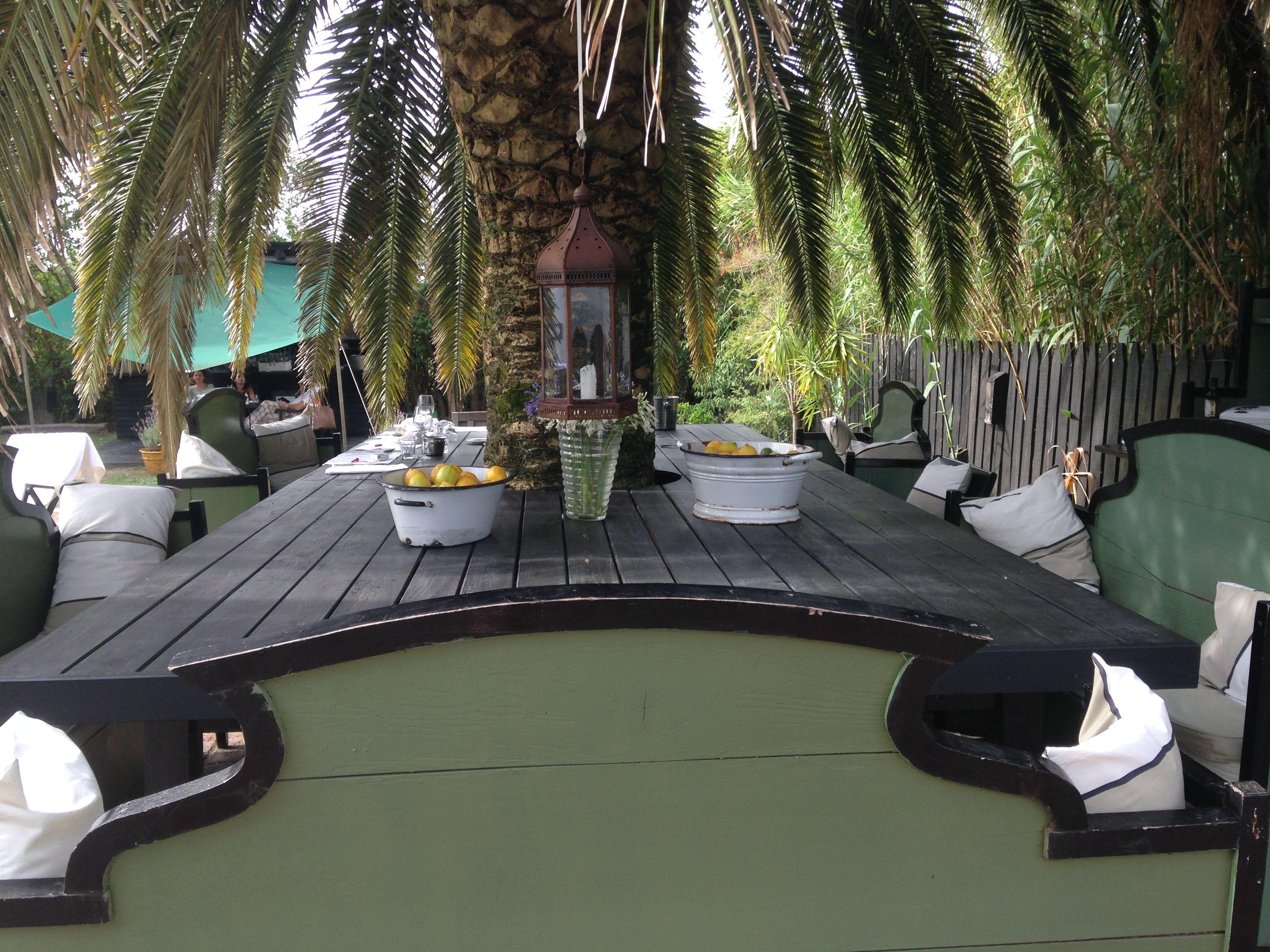 launch table outside garzon hotel u restaurant francis mallmann u finca
