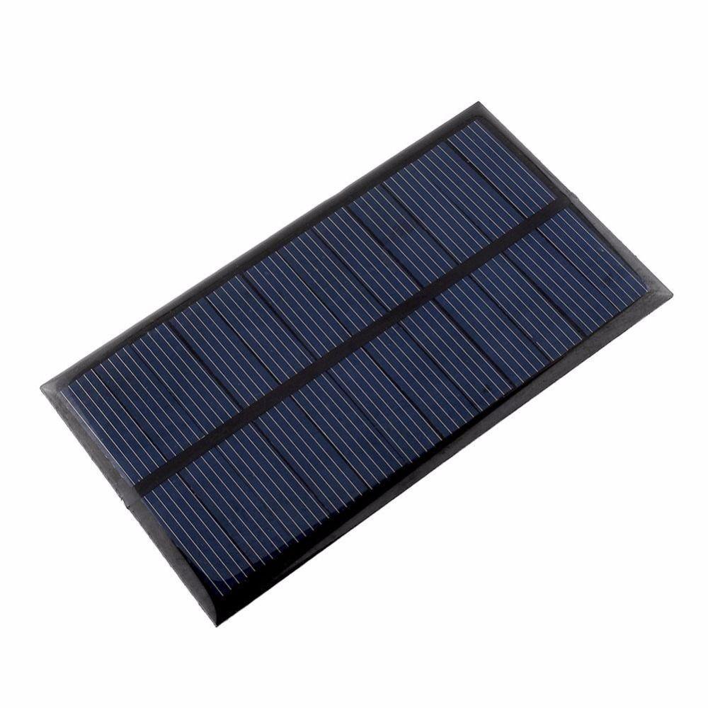 Portable mini 6 v 1 w pannello solare banca di energia solare pannello solare modulo del sistema casa diy per il telefono cellulare caricabatterie