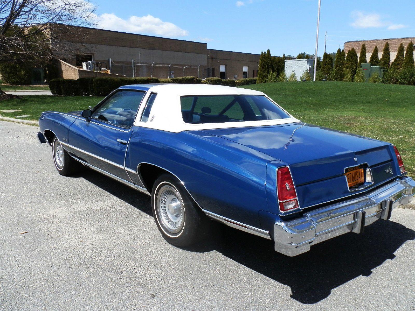 1976 Chevrolet Monte Carlo 1970s Pinterest Chevy