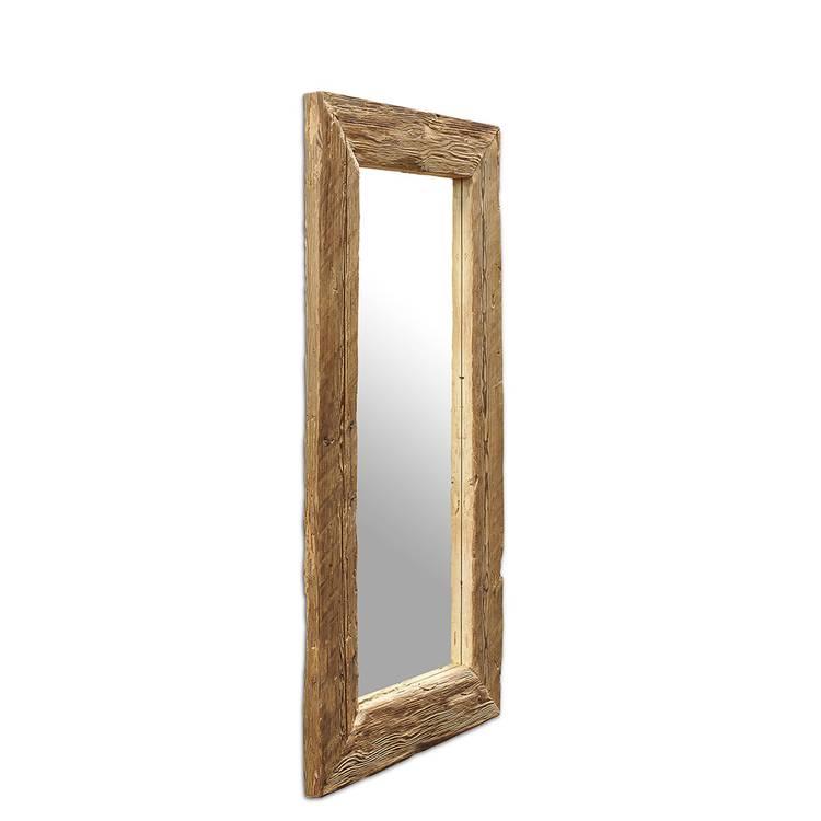 Spiegel Unikat Wandspiegel Mit Rahmen Aus Fichte Altholz Natur B H