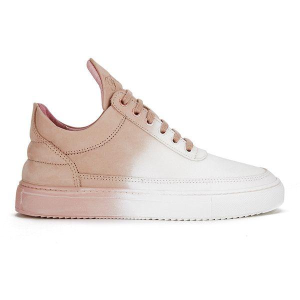 Pièces De Remplissage Ciel Bas Top Sneakers - Blanc yFaj3pE