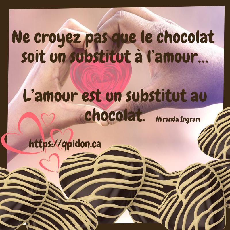 Chocolat, nourriture de Dieu