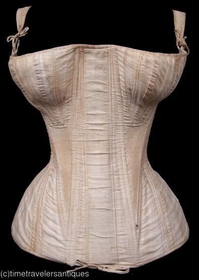 fe87160b87 1820s corset