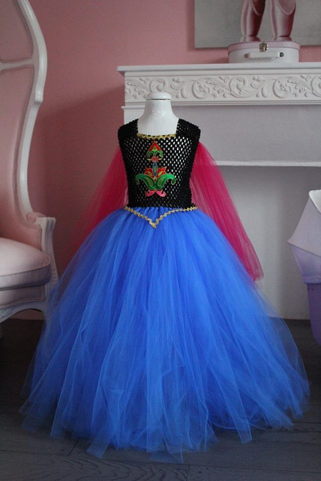 Robe la reine des neiges anna 9 10 ans disney - Anna princesse des neiges ...