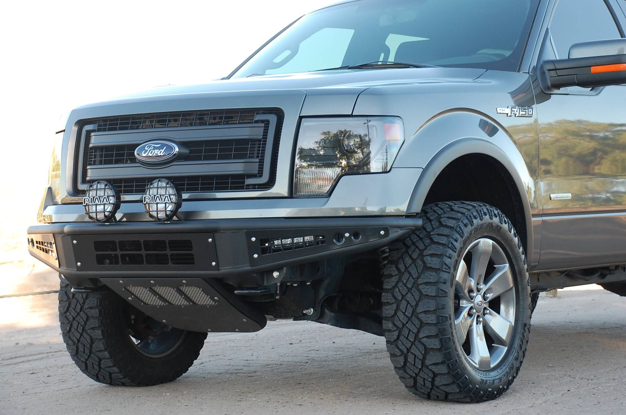 2013 Ford Fx4 With A D D Venom Front Bumper Ford F150