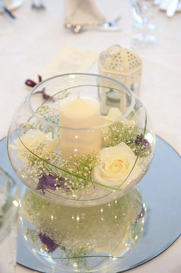 Le vase boule petit objet avec de grandes id es - Decoration de vase pour mariage ...