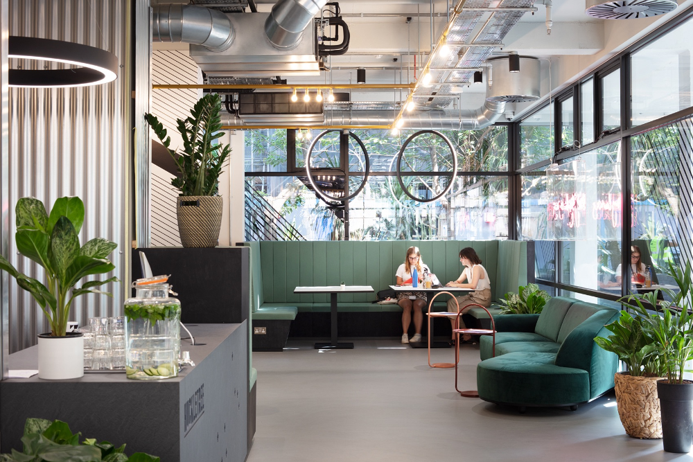 A Tour of Huckletree's Cool New London Coworking Space di