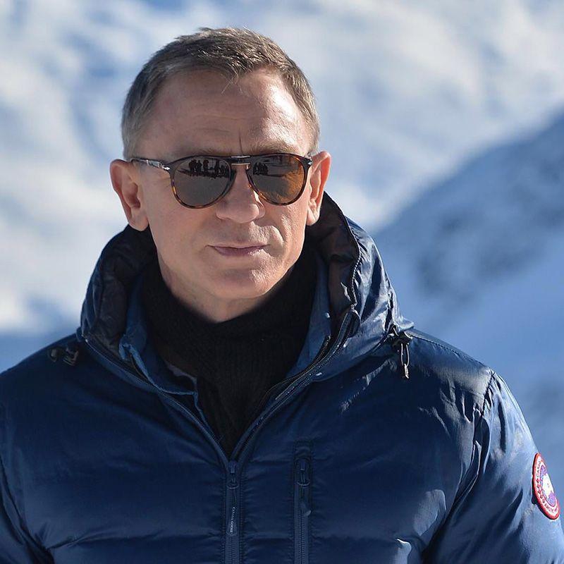 90fb2d68a7 Special Prices James Bond Sunglasses 007 Daniel Craig Folding Sunglasses  714 Light Havana Sunglasses Occhiali