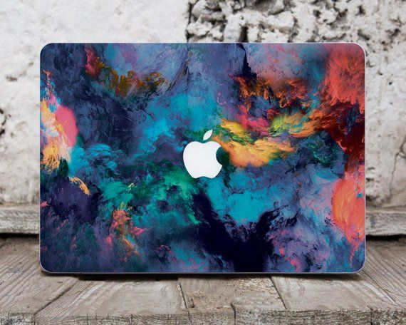 Watercolor Decal Laptop Sticker Macbook Decals Laptop Case Decal
