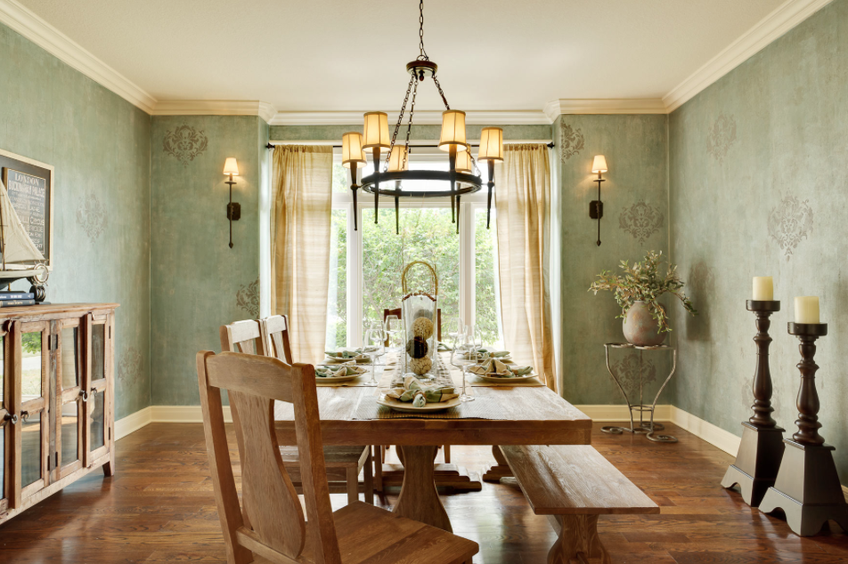 Choosing Paint Colors Country Dining Rooms Dining Room Design