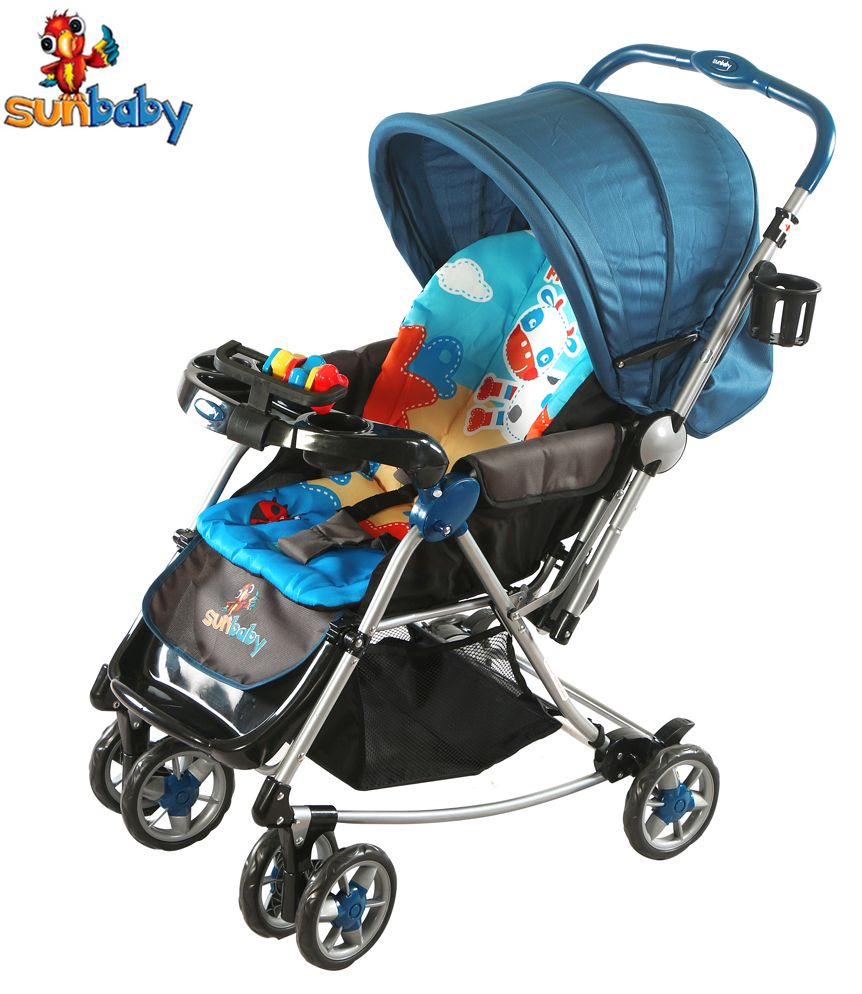 Buggy Stroller India Naughty Cow Stroller With Rocking Sunbaby Strollers