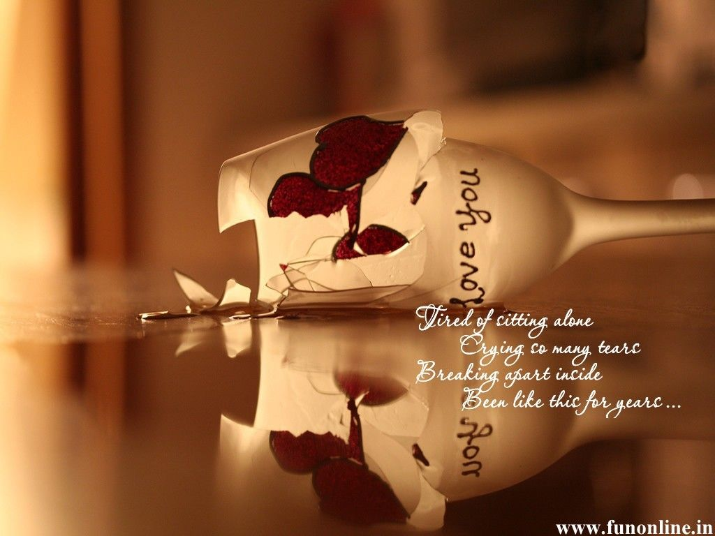 Love Quotes For Him N Her Sad Wallpapers Wallp Apers