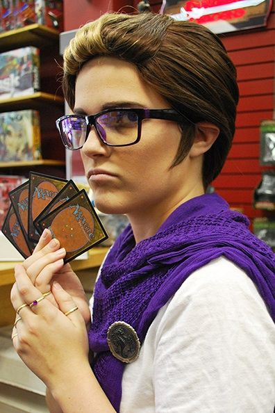 Humanstuck Eridan! This is really cool :3 tHE MAGIC CARDS THO  {OH MY GOd}