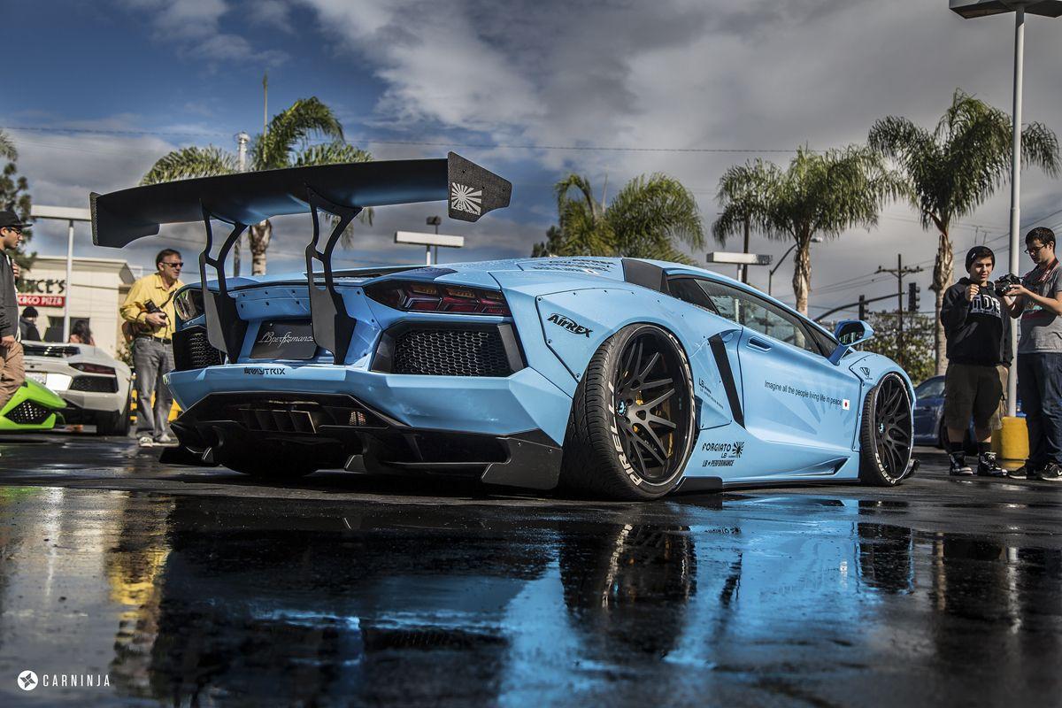The Sema Show 2014 Highlights Liberty Walk Aventador Liberty Walk Lamborghini