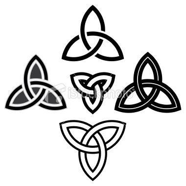 Triquetra Celtic Knotwork Tattoo Eternity Tattoo Photo
