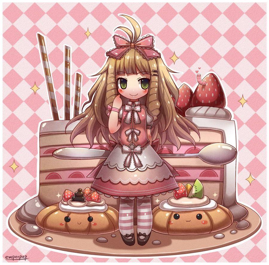 Kawaii Pastry Chibi Chibi