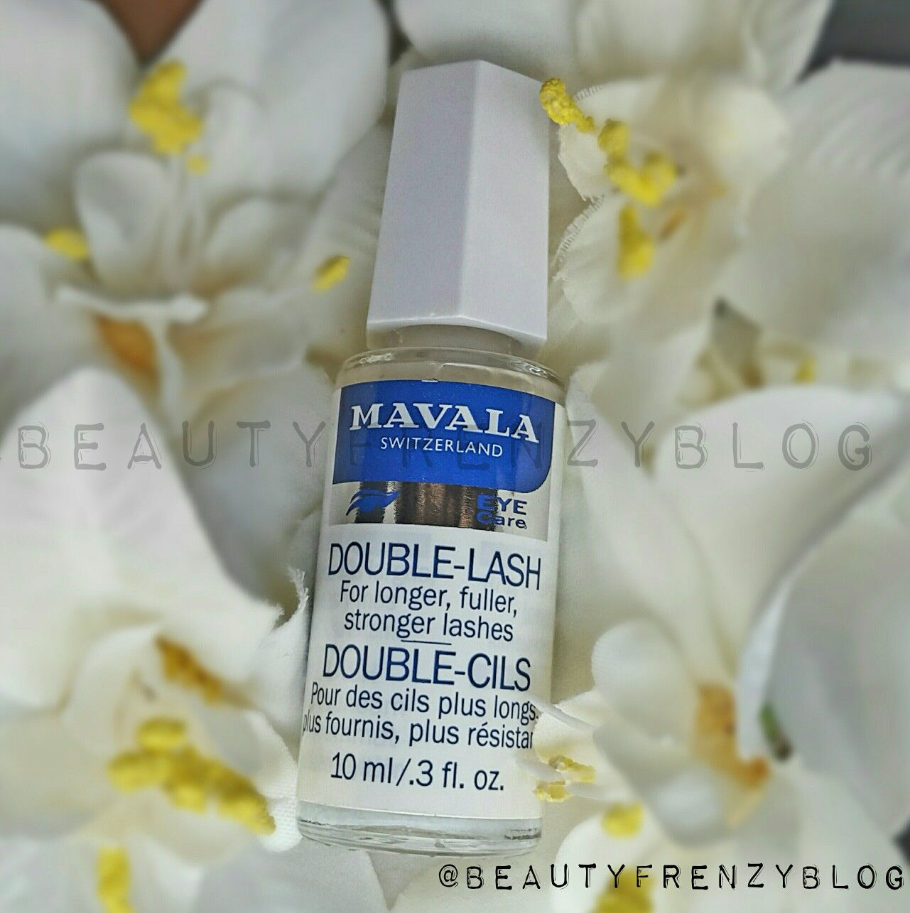 Longer, Fuller, Stronger Lashes. Find out how the Mavala Double Lash Serum can help make your eyelashes longer and fuller. Click here to read more. http://www.beautyfrenzyblog.com/mavala-double-lash-serum-review-longer-lashes-naturally/ #getlongerlashes #growyourlashes #growgullereyelashes #mavaladoublelashserumreview