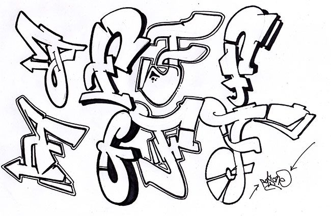 graffiti font style graffiti piece graffiti lettering graffiti alphabet graffiti text