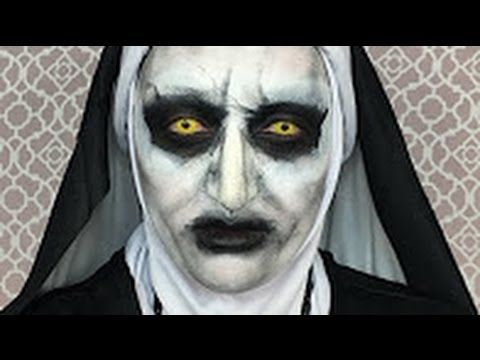 THE CONJURING 2 VALAK MAKEUP TUTORIAL! | funny videos | Pinterest ...