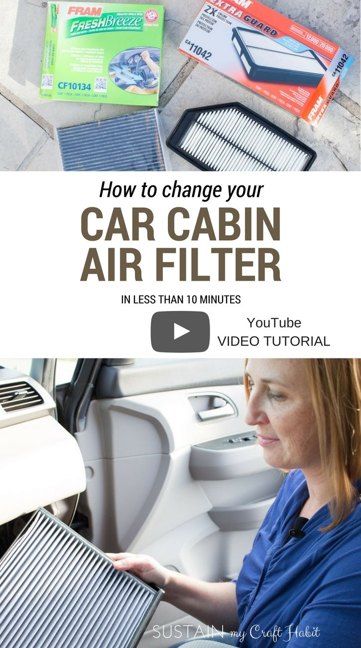 Learn how easy it is to change the cabin air filter in