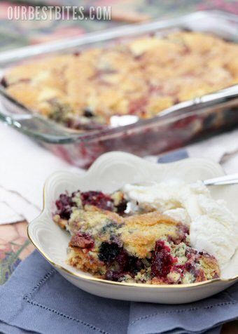Hello! Happiness: recipe time..very berry cobbler