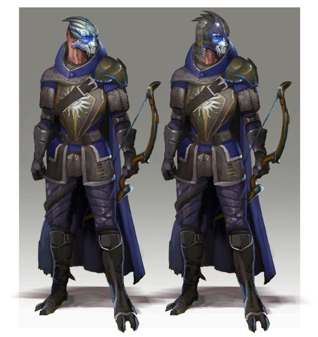 Mass Effect 3 Dragon Age Armor Anyone found any good looking armor or schematics for qunari? roto
