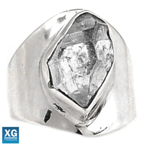 Herkimer-Diamond-925-Sterling-Silver-Ring-Jewelry-s-6-5-SR94307