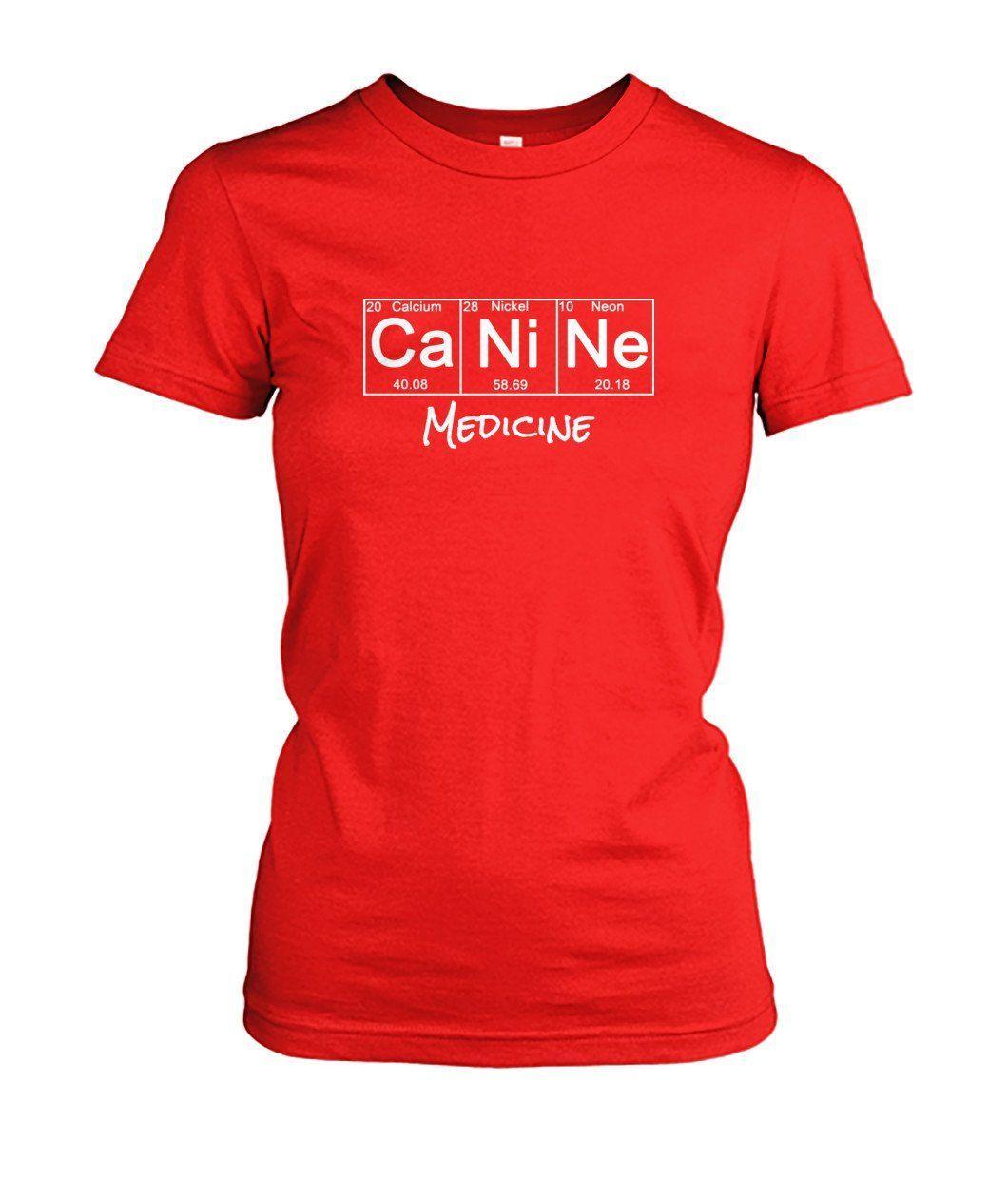 Periodic Table: Canine Medicine Women's Crew Tee