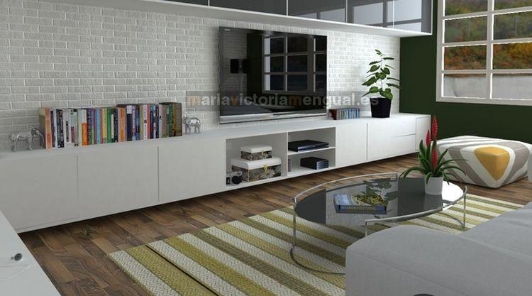 Cómo decorar pisos pequeños para solteros o divorciados con un ...