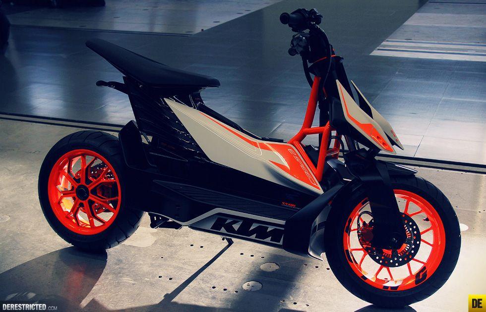 moto scooter ktm