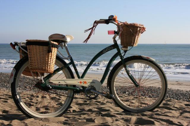 Electra Gypsy 3i W Rear Baskets Annual Seabrook Beach Trip