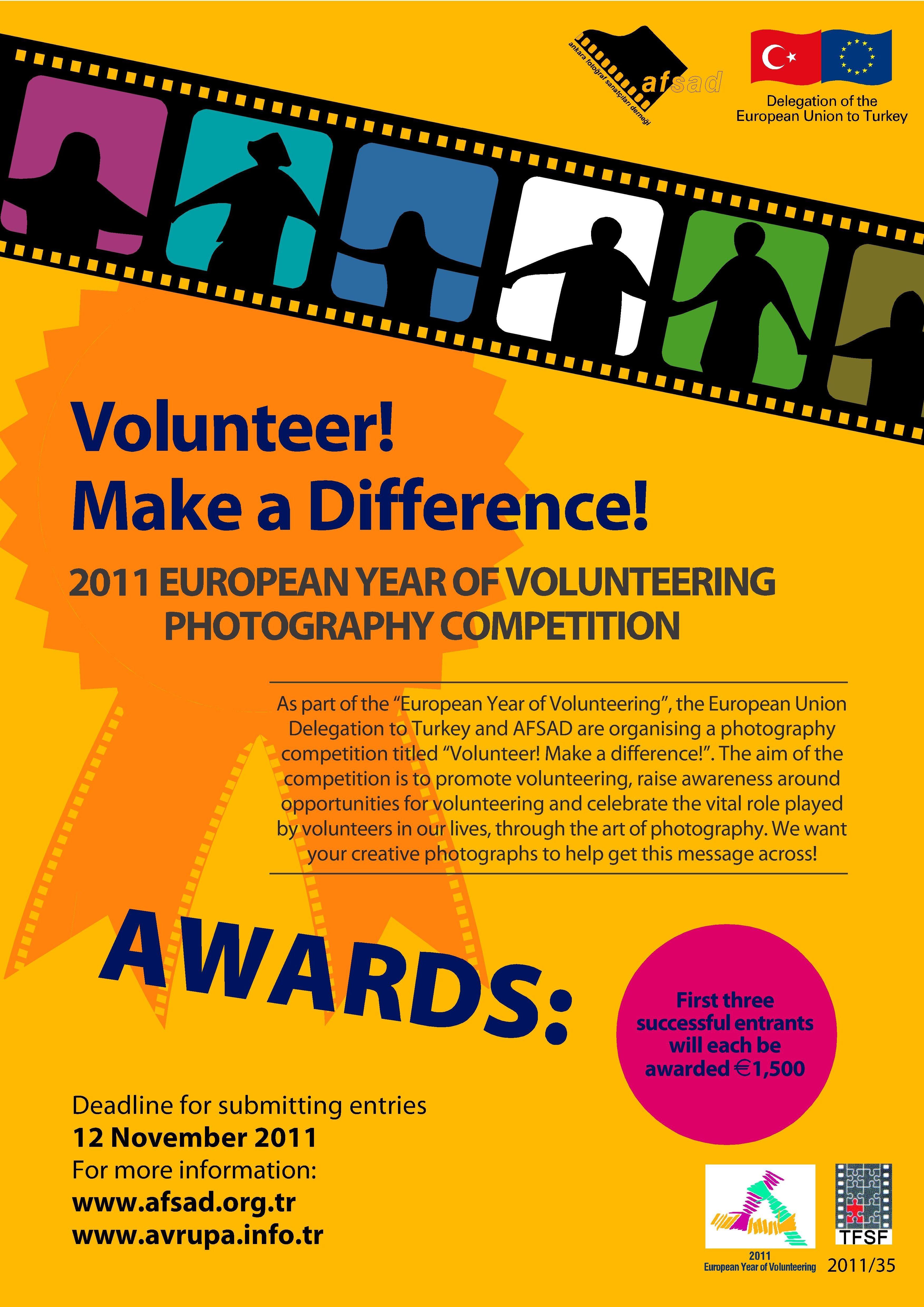 Poster design volunteer - Volunteer Poster
