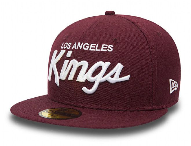 Los Angeles Kings Maroon 59fifty Fitted Baseball Cap By New Era X Nhl Fitted Baseball Caps Los Angeles Kings Baseball Cap
