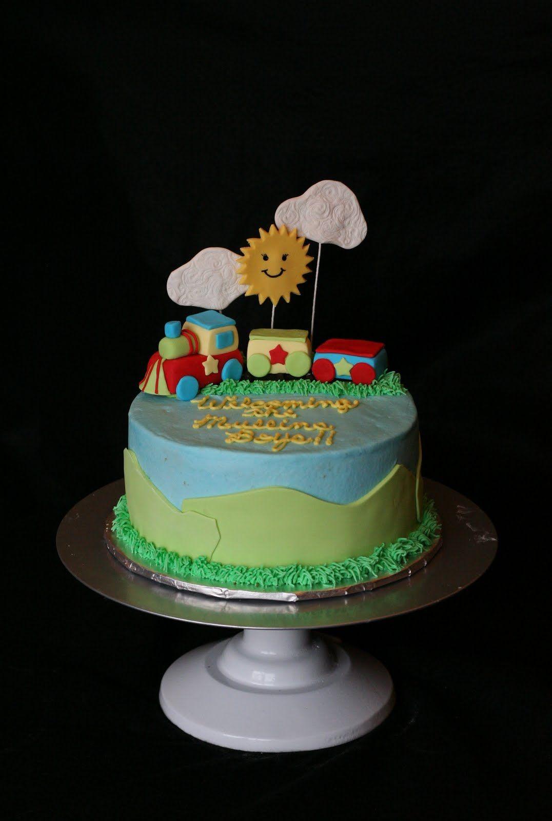 Train birthday cake Cake Ideas Birthday and otherwise Pinterest